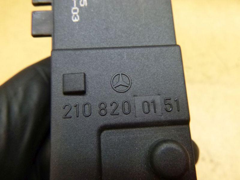 Schalter Sitzheizung Regler MERCEDES-BENZ E-KLASSE KOMBI (S210) E 320 T CDI