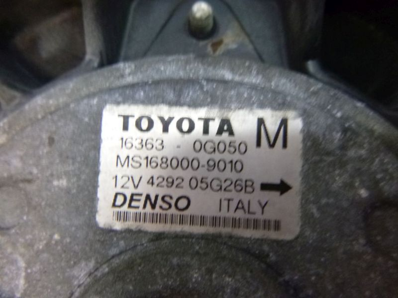 Motorlüfter Elektrolüfter TOYOTA AVENSIS KOMBI (T25) 2.2 D-CAT