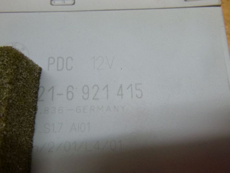 320D Steuergerät Einparkhilfe PDC 6921415 BMW 3 E46