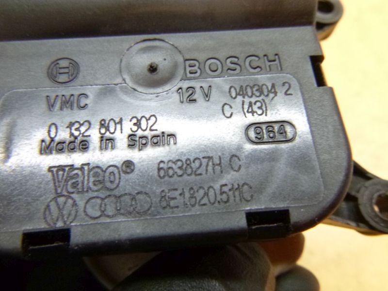 Stellmotor Heizung Klima AUDI A4 AVANT (8E5, B6) 1.9 TDI