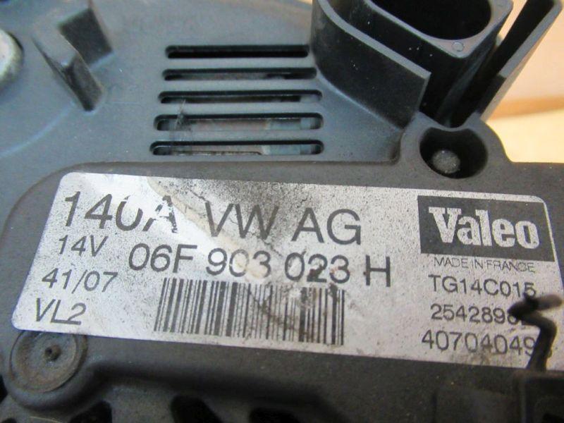 Lichtmaschine Generator 140AAUDI A4 AVANT (8ED, B7) 2.0 TDI
