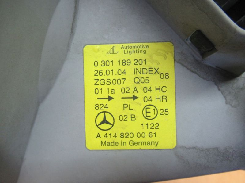 Scheinwerfer links MERCEDES-BENZ VANEO (414) 1.7 CDI