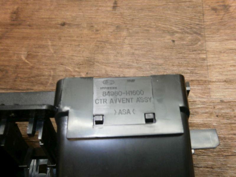 Lüftungsgitter Luftdüse mitte HYUNDAI TERRACAN (HP) 2.9 CRDI 4WD