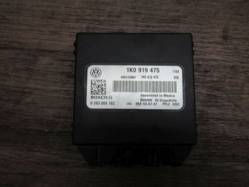 Steuergerät Einparkhilfe VW TOURAN CROSS (1T1, 1T2) 2.0 TDI