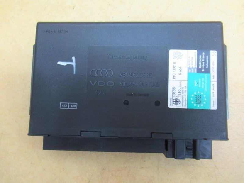 Komfortsteuergerät Steuergerät Nr1AUDI A6 (4B, C5) 1.9 TDI