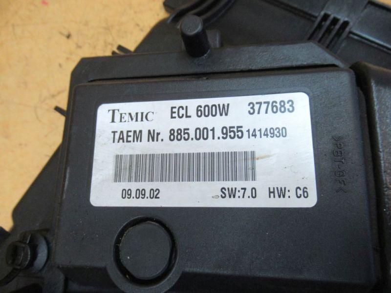 Motorlüfter Elektrolüfter Nr4MERCEDES C-KLASSE T-MODEL S203 C 220CDI
