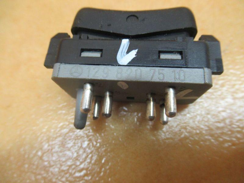 Schalter Scheibenheizung vorne links Nr1MERCEDES-BENZ STUFENHECK (W124) 230 E