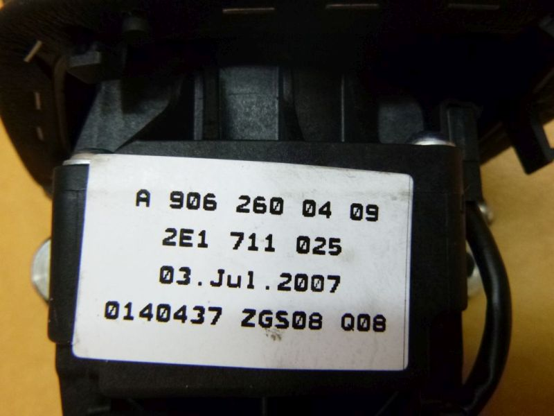 Schaltkulisse MERCEDES-BENZ SPRINTER 3,5-T KASTEN (906) 313 CDI