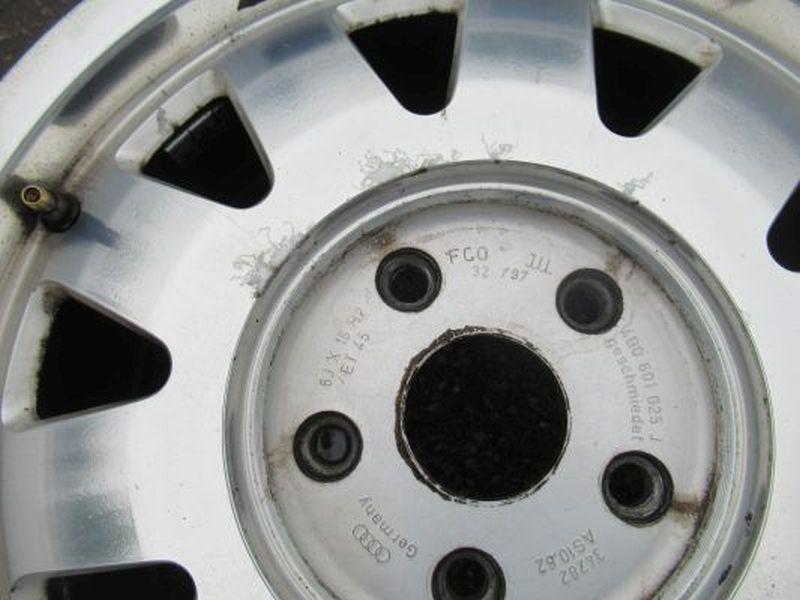 Aluminiumfelge 6JX15 H2 ET45 LK5X1121Satz(je4Stück)