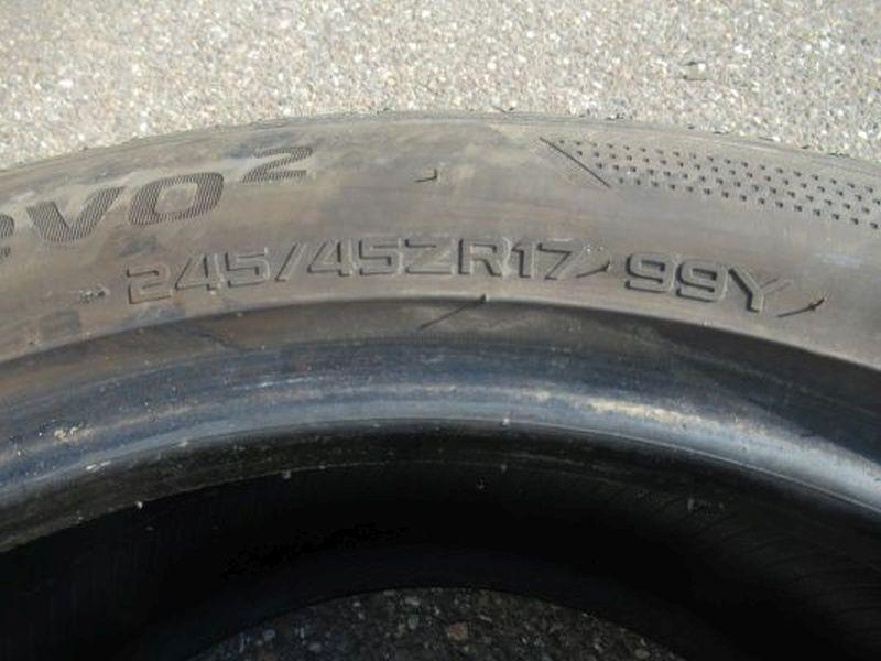 Reifen: 245/45ZR17 99Y1Satz(je2Stück)