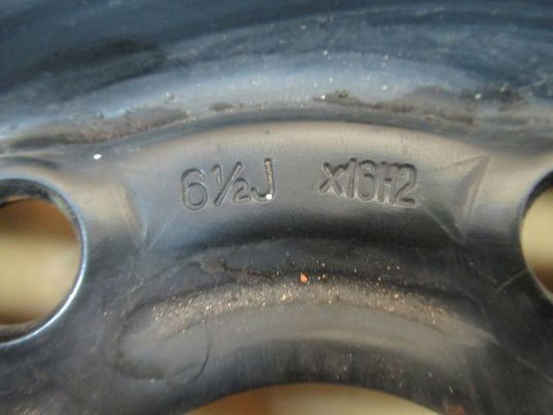 Stahlfelge 6.5JX16 H2 ET50 LK5X108