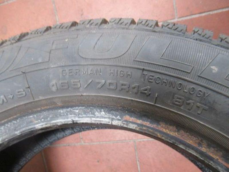 Reifen: 165/70R14 81T1Satz(je2Stück)