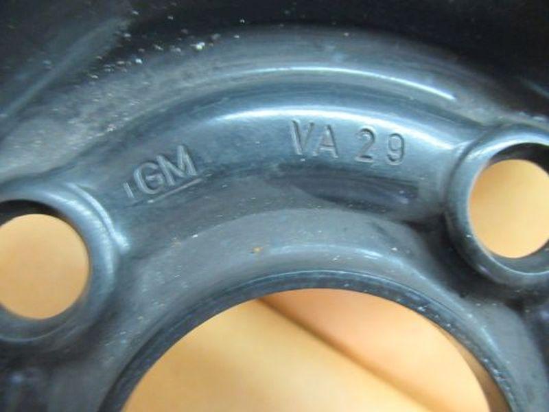 Stahlfelge 6JX15 H2 ET49 LK4X100